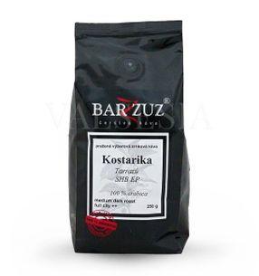 Kostarika Tarrazú SHB EP, zrnková káva, 100 % arabica, 250 g