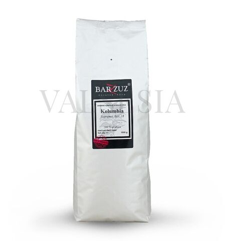 Kolumbia Cafe Sofia, Scr. 19 washed, zrnková káva, 100 % arabica, 1000 g