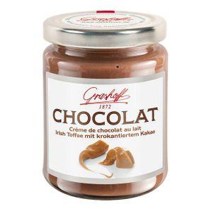 Mliečny čokoládový krém s kakaovými chrumkami, 250 g, zn. GRASHOFF