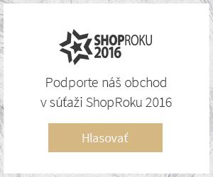 Podporte náš obchod v súťaži ShopRoku 2016