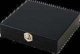 Darčeková krabička BLACK s vinárskou súpravou 5 pomôcok
