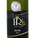 Devín 2018, akostné víno, polosuché, 0,75 l