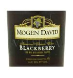 Mogen David Blackberry, 0,75 l