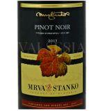 Mrva Stanko Pinot Noir (Rulandské modré) - Čachtice 2013, výber z hrozna, suché, 0,75 l - Mondial des Pinot 2015 - strieborná medaila