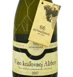 Víno kráľovnej Alžbety Special Collection 2017, výber z hrozna, polosuché, 0,75 l
