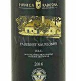 Cabernet Sauvignon 2016, neskorý zber, suché, 0,75 l