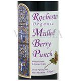 Rochester organic Mulled Berry Punch - nealkokoholický prírodný nápoj, 0,725 l