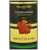 Mrva & Stanko Chardonnay - Kamenný Most 2012, neskorý zber, suché, 0,75 l