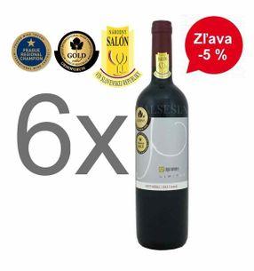 Akcia - 6 x Petit Merle - Limited 2013, Oaked, akostné víno, suché, 0,75 l