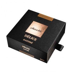 ChocoMe Délice Raffinée - mandľa Avola obalená horkou 72,2% čokoládou a kakaovým práškom, 120g