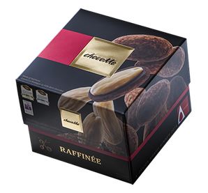 ChocoMe Raffinée Mandľa v tmavej čokoláde s divokým korením z Madagaskaru a kakaovým práškom,120g