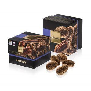 ChocoMe Raffinée - Pekanové orechy v karamelovej mliečnej čokoláde so soľou a vanilkovým cukrom, 120 g