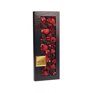 ChocoMe - Tmavá čokoláda Valrhona 66% černica, višňa, malina, 100g