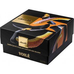 ChocoMe Voilé - Kandizovaná španielska pomarančová kôra v tmavej čokoláde s klinčekmi, 120g