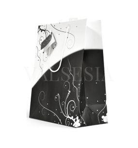 Darčeková papierová taška stredná