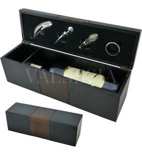 Darčekový obal Wine Selection na 1 víno + 4 vinárske pomôcky