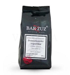 Dominikánska republika, zrnková káva, 100 % arabica, 250 g