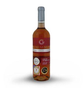Cabernet Sauvignon rosé, r. 2016, neskorý zber, suché, 0,75 l
