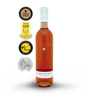 Cabernet Sauvignon rosé 2017, D.S.C., akostné víno, polosladké, 0,75 l