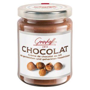 Mliečny čokoládový krém s lieskovými orieškami, 250 g, zn. GRASHOFF