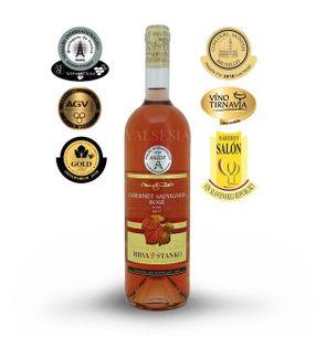 Cabernet Sauvignon rosé 2017, akostné víno, suché, 0,75 l