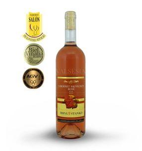 Cabernet Sauvignon rosé - Vinodol 2016, akostné víno, suché, 0,75 l