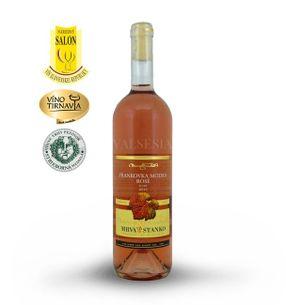 Frankovka modrá rosé - Vinodol 2016, akostné víno, suché, 0,75 l