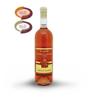 Frankovka modrá rosé - Vinodol 2017, akostné víno, suché, 0,75 l