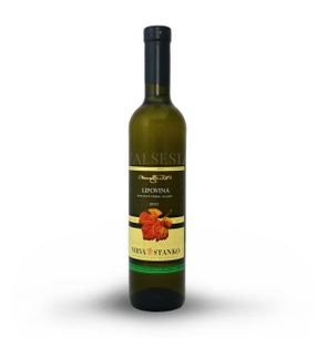 Lipovina - Malá Tŕňa 2015, bobuľový výber, sladké, 0,5 l