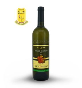 Müller Thurgau - Mojmírovce 2016, akostné víno, suché, 0,75 l