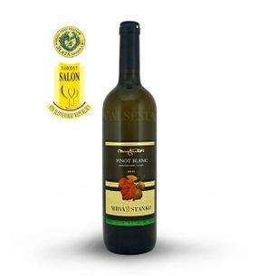 Pinot Blanc (Rulandské biele) 2015, neskorý zber, suché, 0,75 l