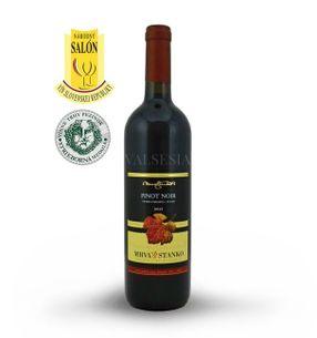 Pinot Noir (Rulandské modré) - Čachtice 2015, výber z hrozna, suché, 0,75 l