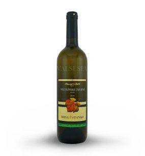 Veltlínske zelené - Dolné Orešany 2015, akostné víno, suché, 0,75 l