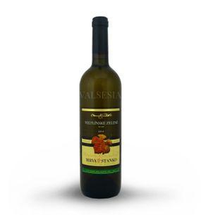Veltlínske zelené - Dolné Orešany, r. 2014, akostné víno, suché, 0,75 l