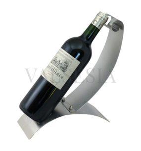Nerezový stojan na víno P2