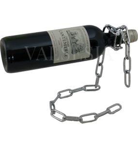 Nerezový stojan na víno P8