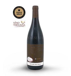 Pinot Noir 2015, Oaked, akostné víno, suché, 0,75 l
