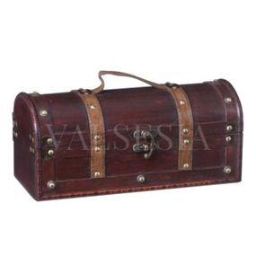 Rustikálny darčekový box na víno F10