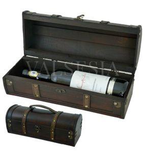 Rustikálny darčekový box na víno F11