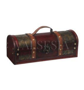 Rustikálny darčekový box na víno F16