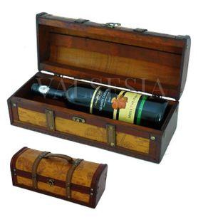 Rustikálny darčekový box na víno F17