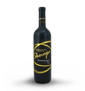 Frankovka modrá 2015, akostné víno, suché, 0,75 l
