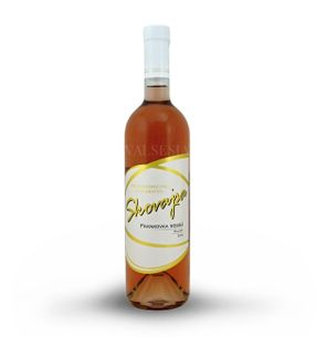 Frankovka modrá rosé 2016, akostné víno, suché, 0,75 l