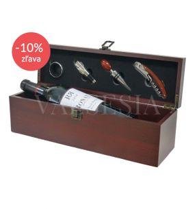 Darčekový set Chateau Grand Vin de Bordeaux - RONAN By Clinet, r. 2010, 0,75 l - vianočná zľava - 10%