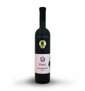 Víno z čiernych ríbezlí, značkové víno, 0,75 l