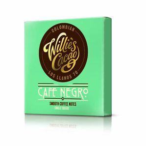 Willie´s - Horká čokoláda 70% Colombian Café Negro s kávou, 50 g