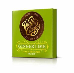 Willie´s - Horká čokoláda 70% Sierra Leone so zázvorom a limetkou, 50 g