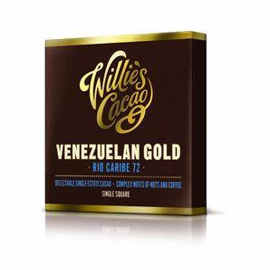 Willie´s - Horká čokoláda 72% Venezuelan Gold RIO CARIBE, 50 g