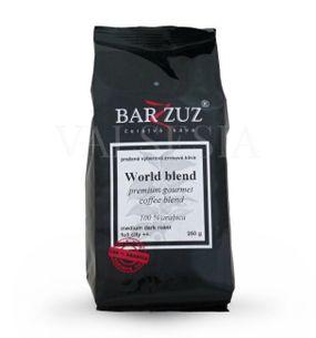 World blend, premium gourmet coffee blend, zrnková káva, 100 % arabica, 250 g