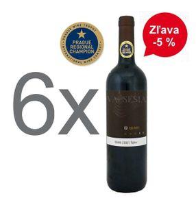 Akcia - 6 x Dunaj 2015, Oaked, akostné víno, suché, 0,75 l